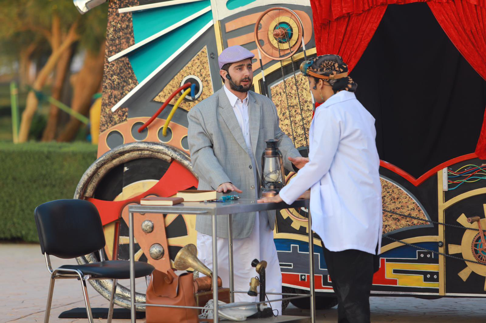 Mobile theatre show staged at Al Khor Park