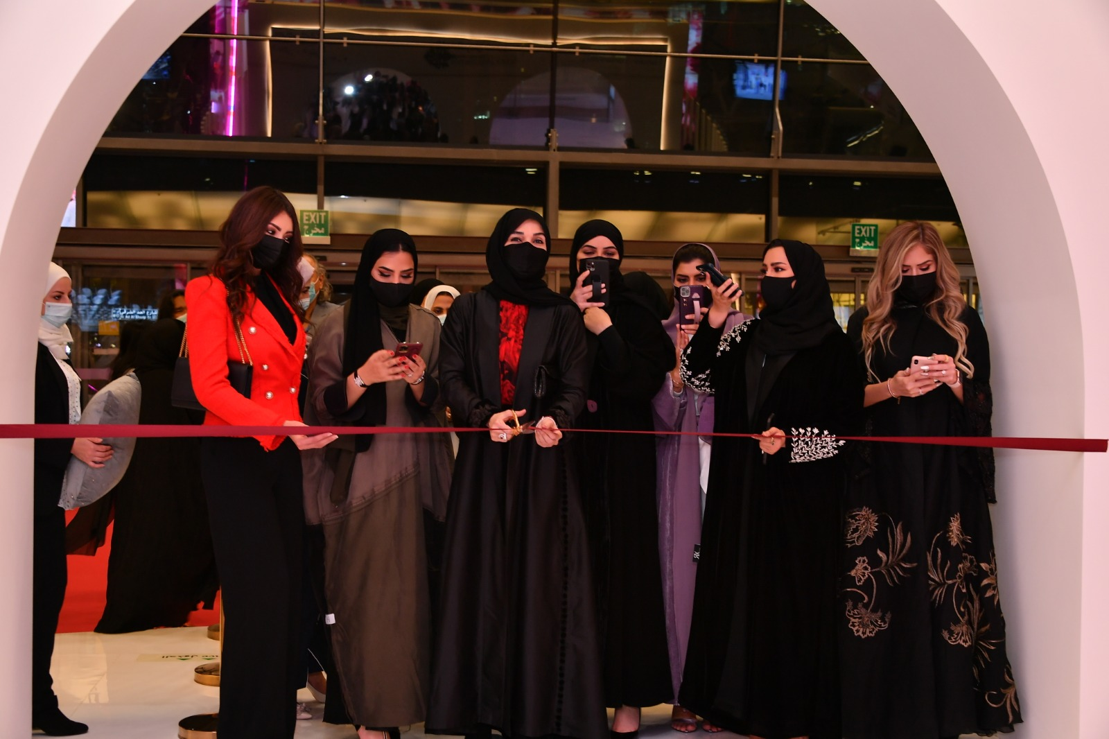 Merwad Exhibition Opens with Great Participation by Businesswomen from Qatar, Other Countries