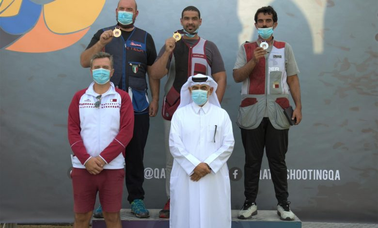 Mohammed Al Rumaihi Wins Gold Medal in Trap Competition of QSAA Cup