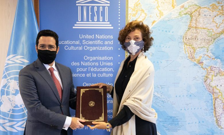 UNESCO Director-General Receives Credentials of Qatar's Representative
