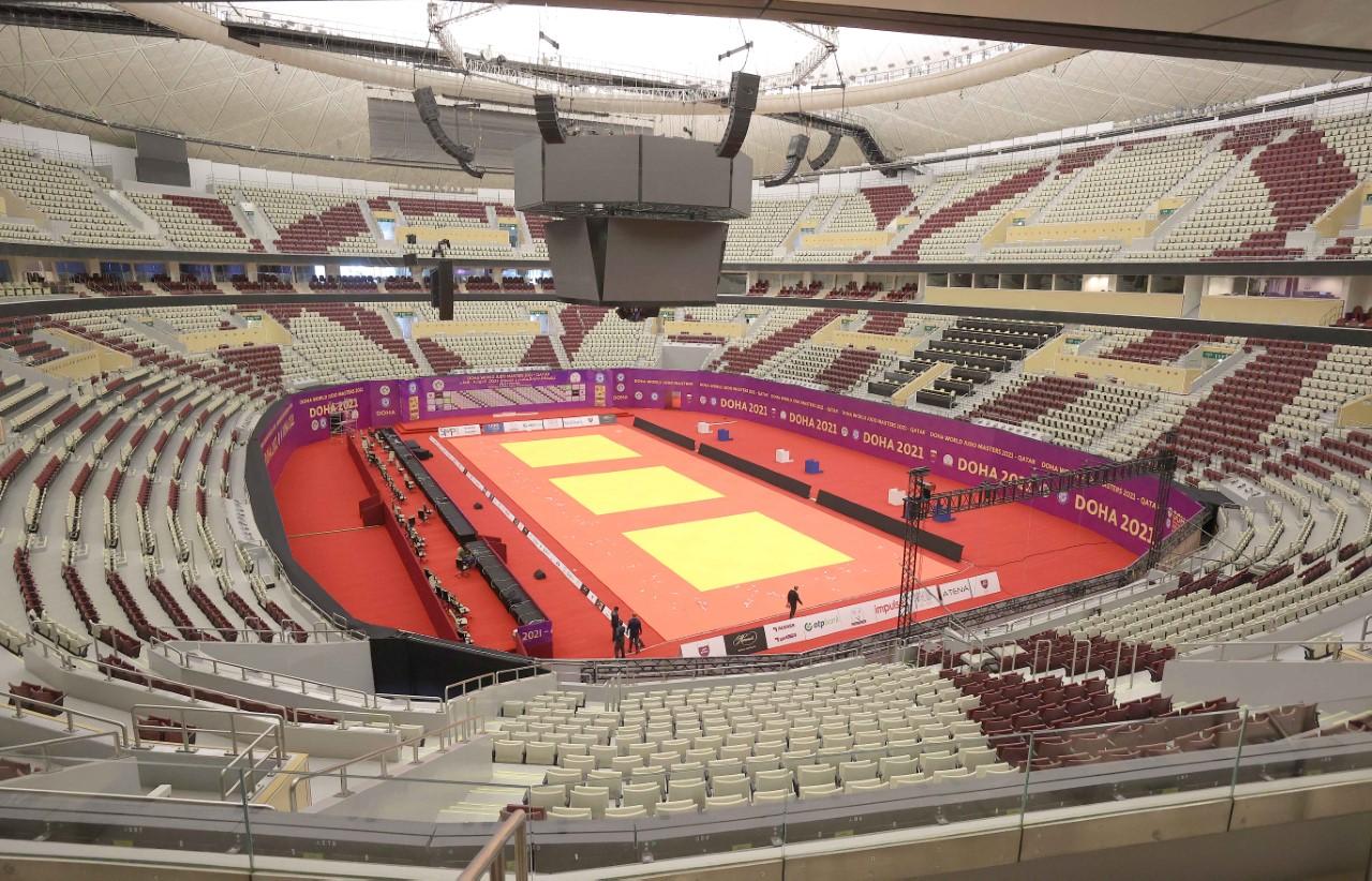 Lusail Multipurpose Hall Ready to Host IJF World Judo Masters Doha 2021