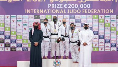 Sheikh Joaan Crowns Winner of Doha World Judo Masters 2021