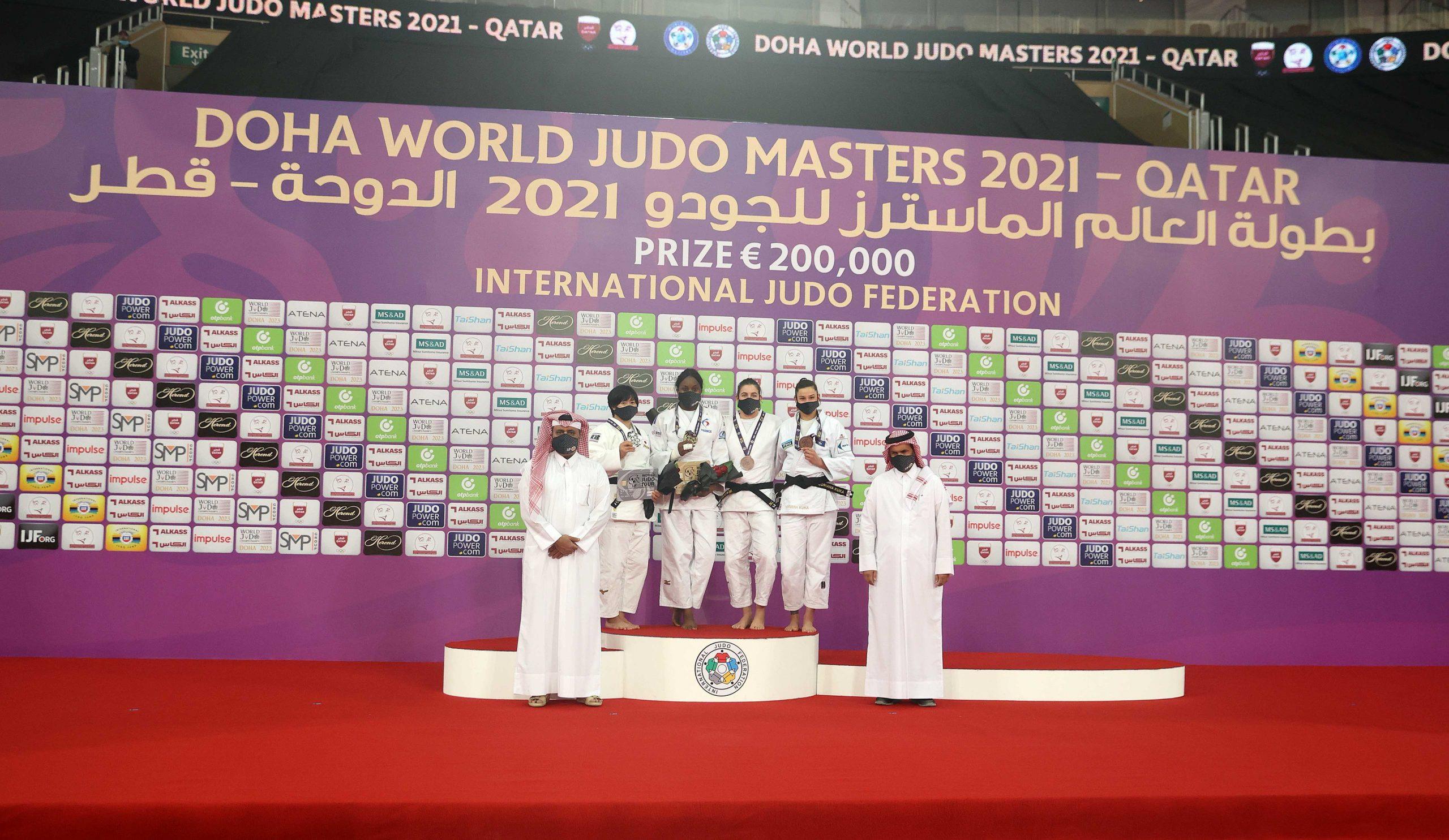 Sheikh Joaan Crowns Winner of Doha World Judo Masters 2021