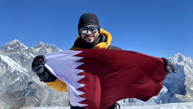 Fahad Badar succeeds at climbing the highest peak in Nepal