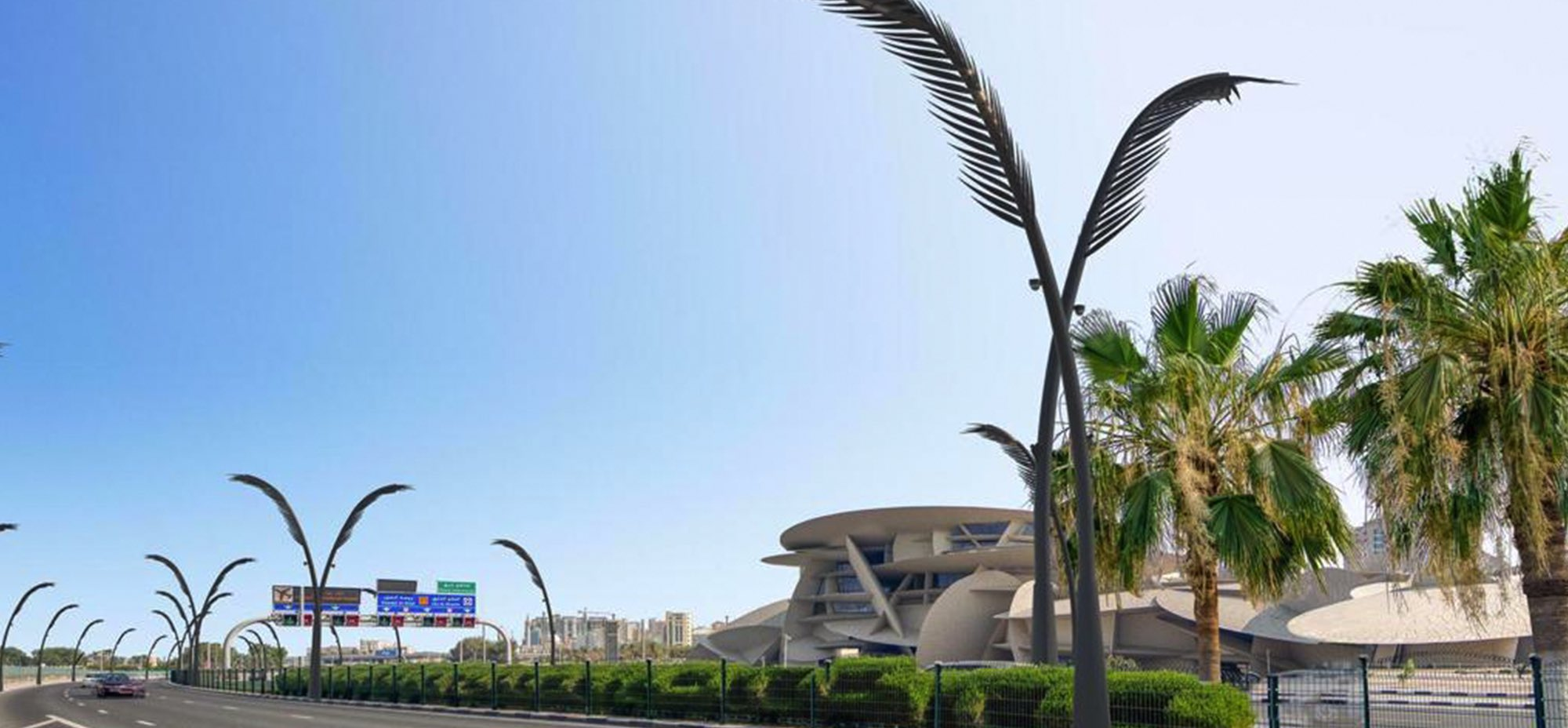 2,600 lighting poles to decorate Doha Corniche and Doha central area