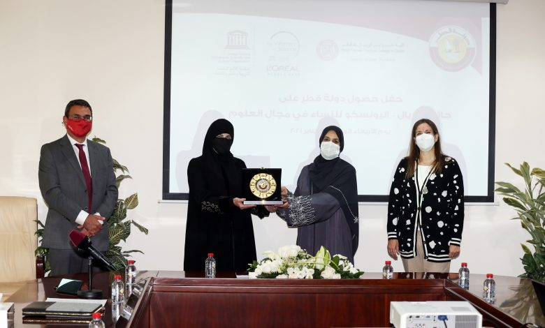 Qatar Wins LOreal-UNESCO Award 2020