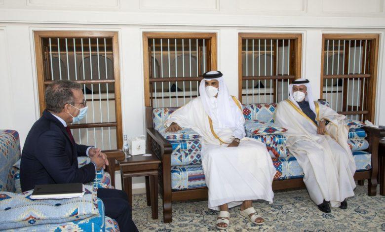 Amir Meets President of Inter-Parliamentary Union