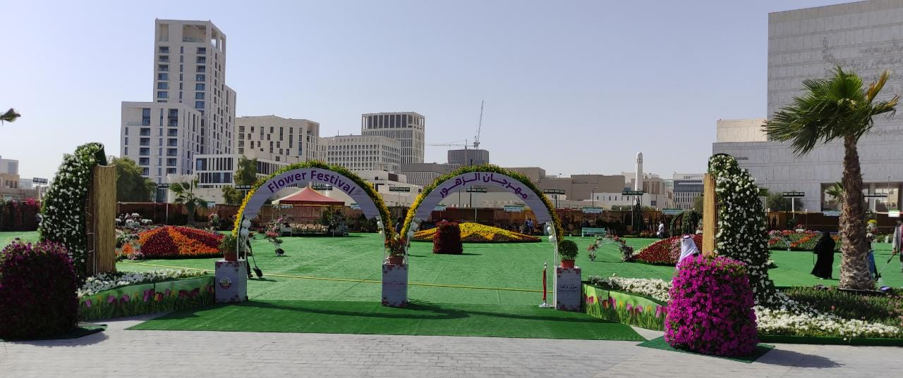 Flower Festival at Souq Waqif begins