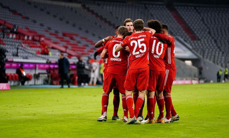 Bayern retain top spot with comeback 5-2 win