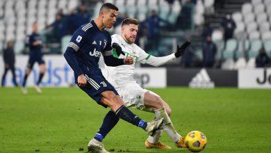 Juventus Beat Sassuolo in Italian Serie A