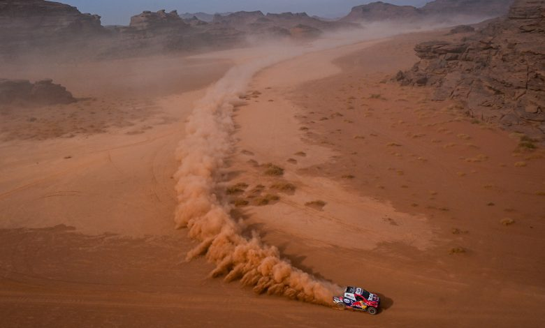 Al-Attiyah finish second in the 10th stage of the Dakar International Rally