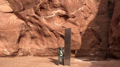 Mysterious obelisks land again in Canada