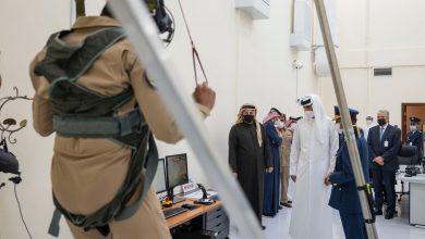 Amir Visits Aviation Medical Center