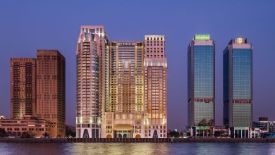 Qatar's Minister of Finance in Cairo to open the St. Regis Hotel