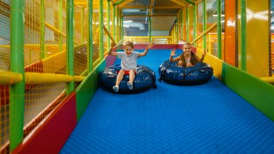 Electronic game centres and trampolines open with partial capacity