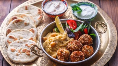 Falafel competes with burger in America