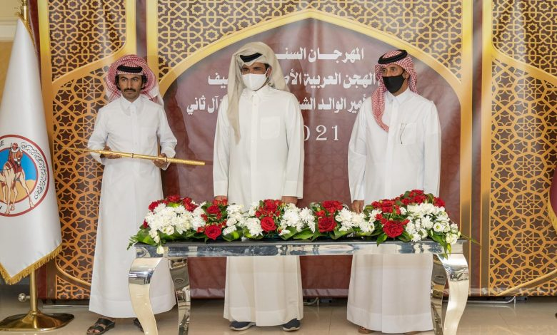 Sheikh Joaan Crowns Winners of Day 9 of HH the Father Amir Camel Racing Festival