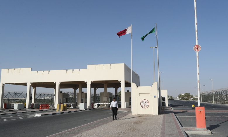 Saudi Salwa border crossing prepares to receive passengers from Qatar