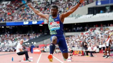 Zango leaps into record books with world indoor triple jump mark