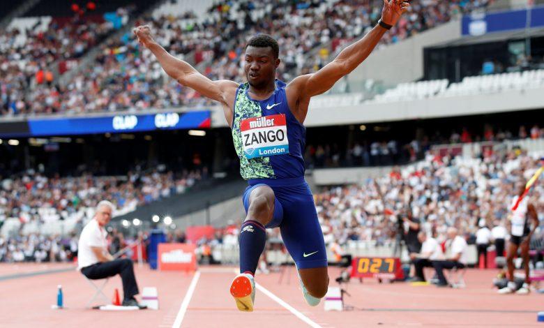 Zango leaps into record books with world indoor triple jump mark
