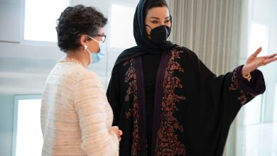 Sheikha Moza Meets Spanish Minister for Foreign Affairs