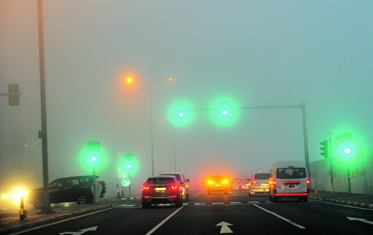 QMD recommends safety measures due to low visibility
