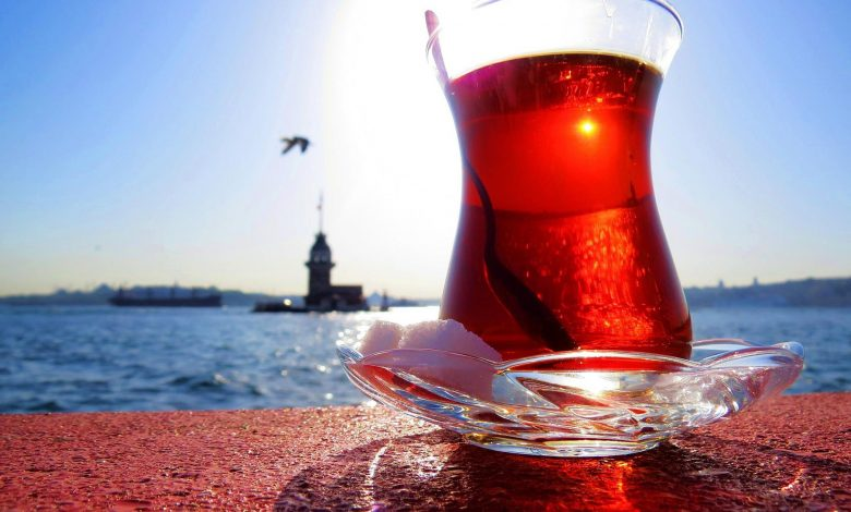 Which Arab country consume tea the most?