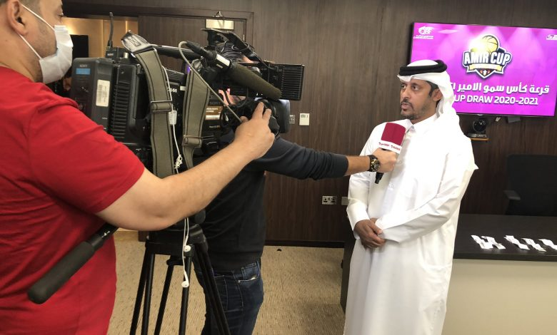 QBF Holds HH the Amir Men's Basketball Cup Draw