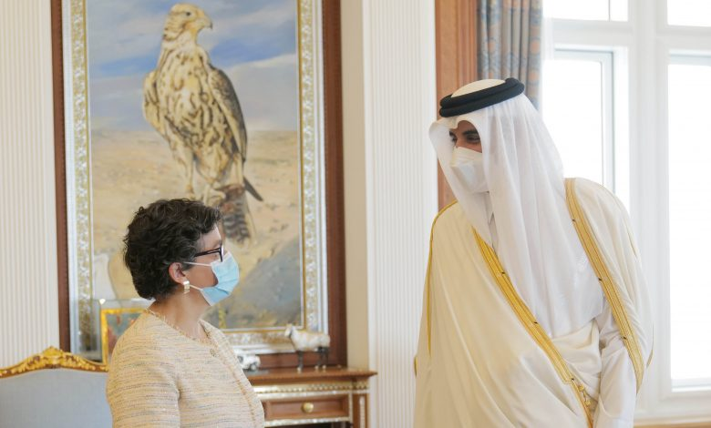 Amir Meets Spanish Minister for Foreign Affairs