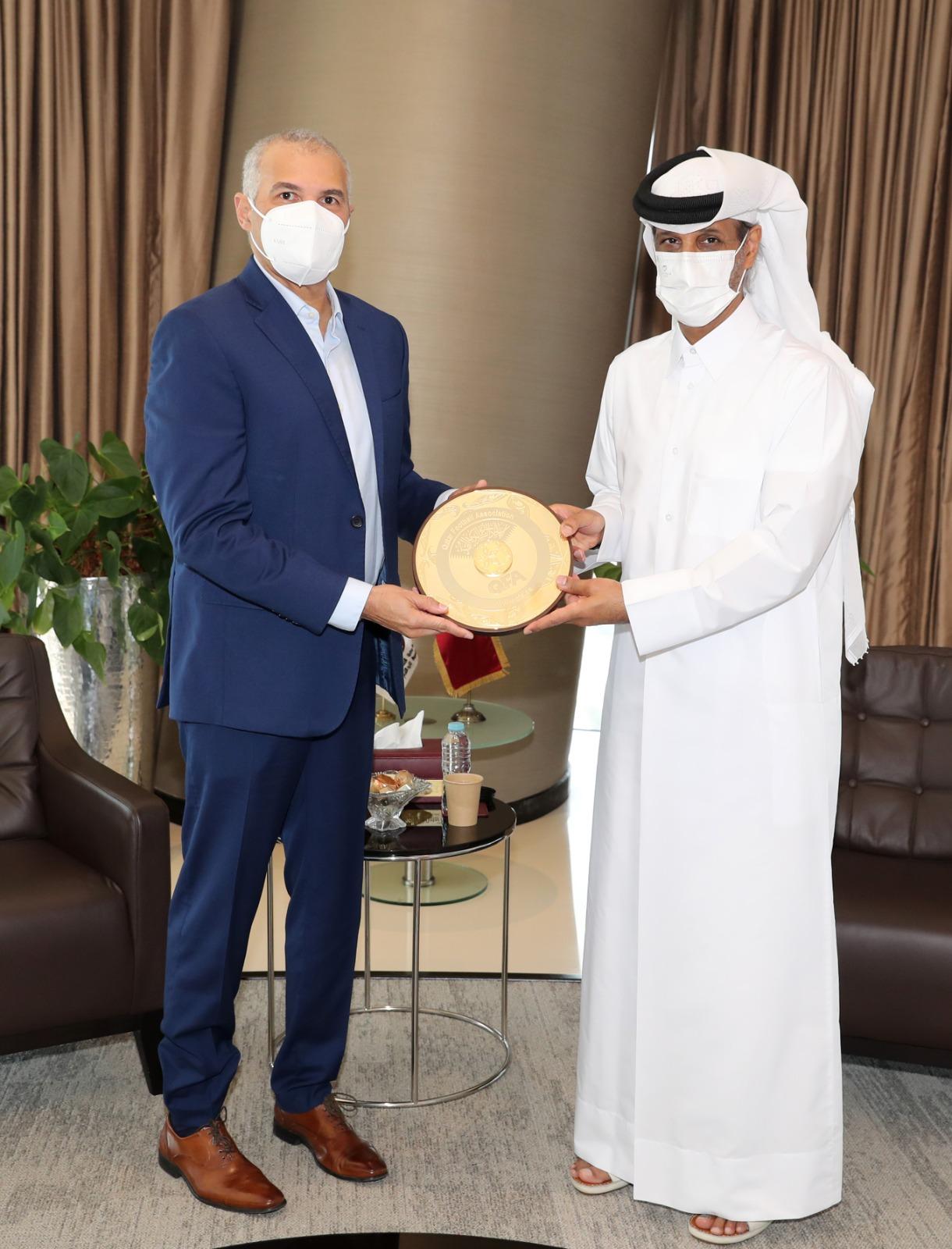 QFA President Meets Heads of National Federations