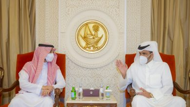 Sheikh Joaan Meets Saudi Minister of Sports