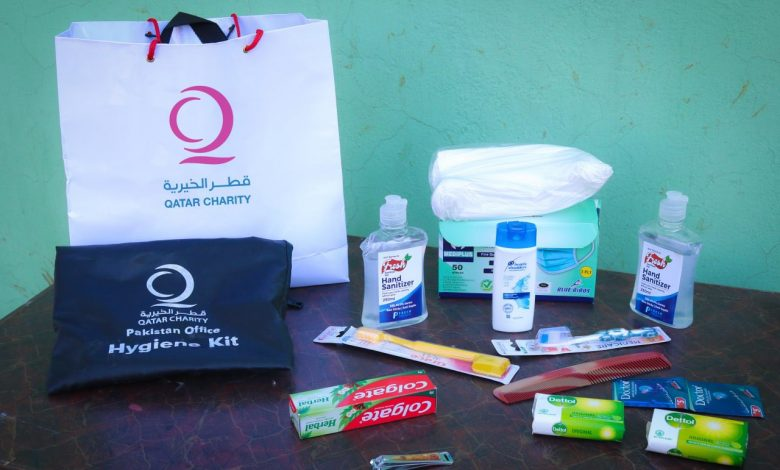 Qatar Charity distributes hygiene kits to orphans in Pakistan