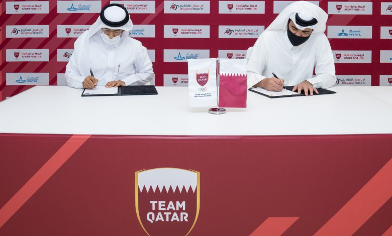 QOC Signs agreements to support the Elite Athletes Program