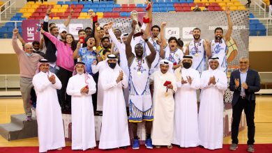 Al Gharafa Win Qatar Basketball Cup
