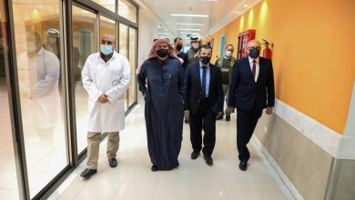 Al Emadi Inspects Work Progress at Hamad Hospital  in Gaza