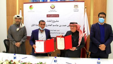 Al Emadi signs agreement to establish a hospital in Rafah at a cost of $ 24 million