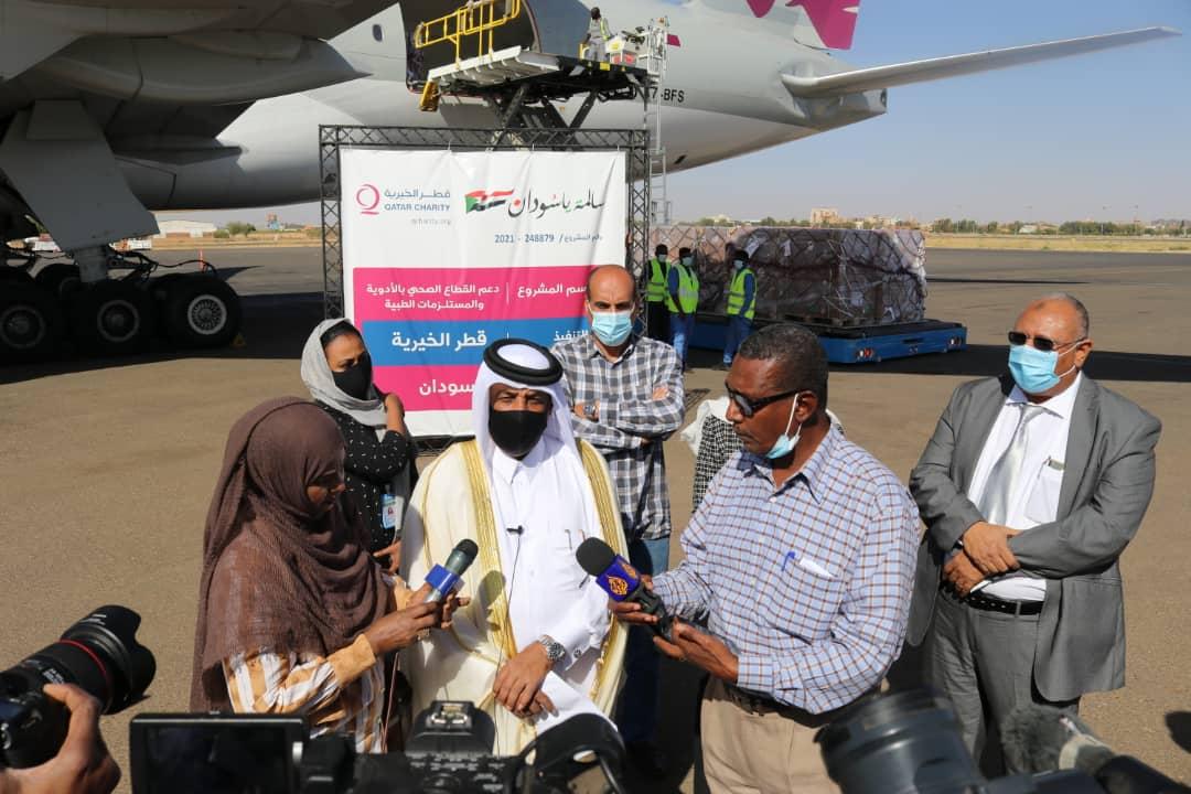 Qatar provides medical aid to Sudan