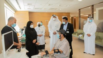 Minister Visits Post-COVID Inpatient Unit Inside Qatar Rehabilitation Institute