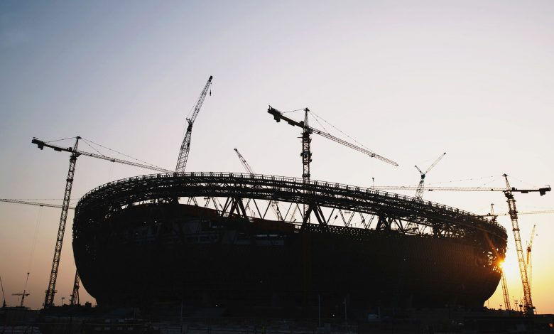 Lusail Stadium is coming to life