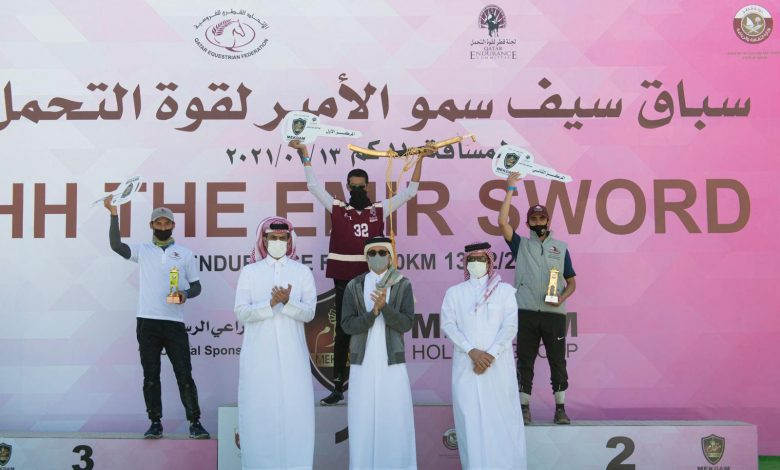 Minister Crowns Winners of Endurance Race on HH the Amir Sword
