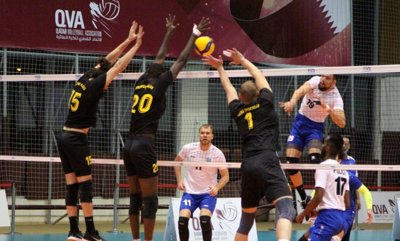 Police Team Qualify for Qatar Volleyball Cup Final