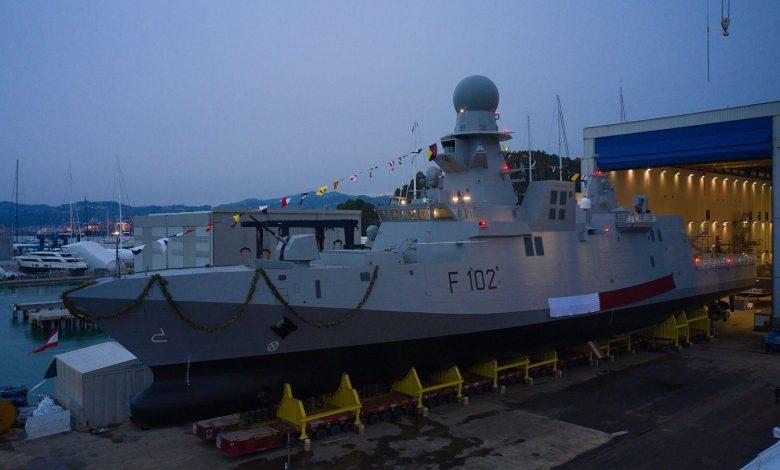 """Ministry of Defense Inaugurates """"Damsa"""" Corvette in Italy"""