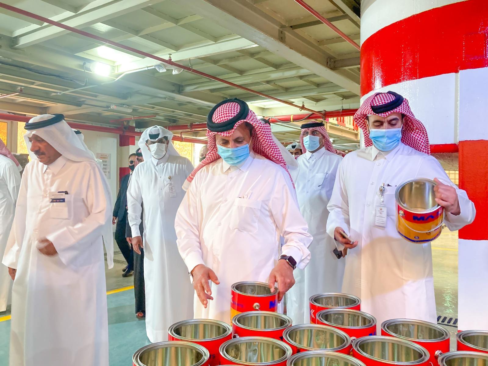 Qatar Chamber Chairman inaugurates three factories