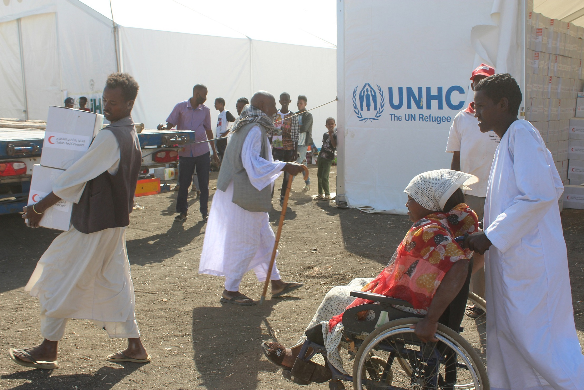 Phase 1 of Ethiopian Refugee Relief Project in Sudan Completed