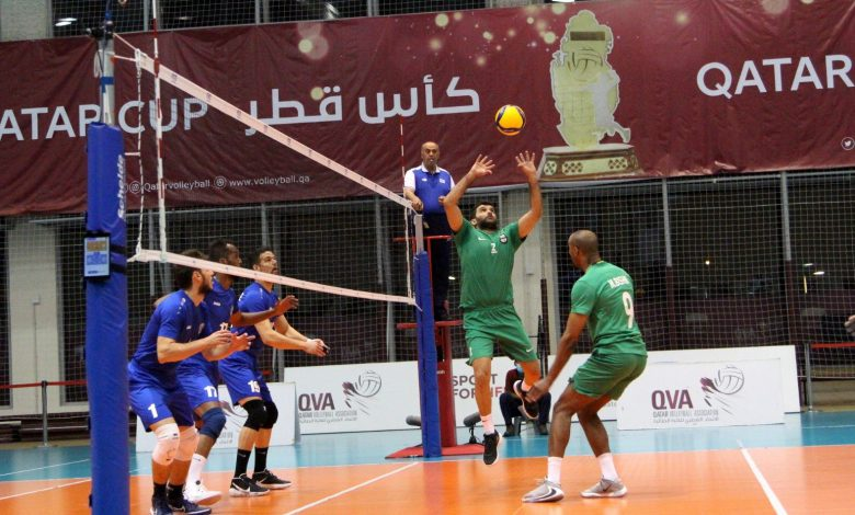 Al Ahly Crowned Qatar Volleyball Cup for the First Time in its History