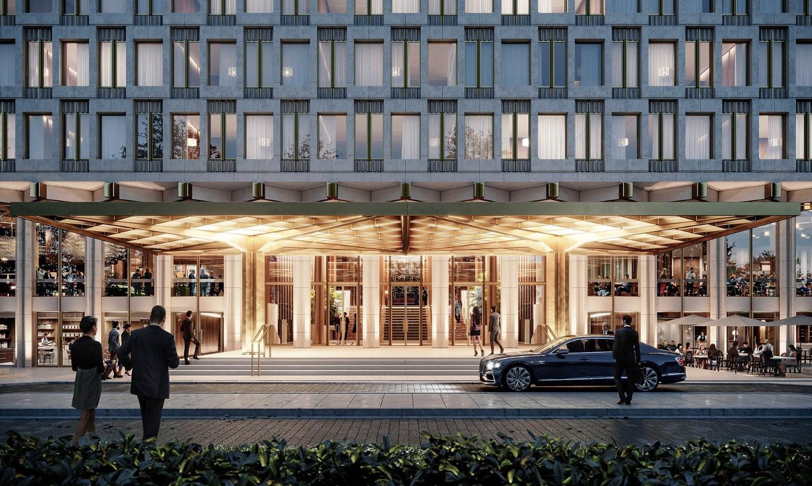 Qatari Diar Announces New Official Name for Investment Building in London