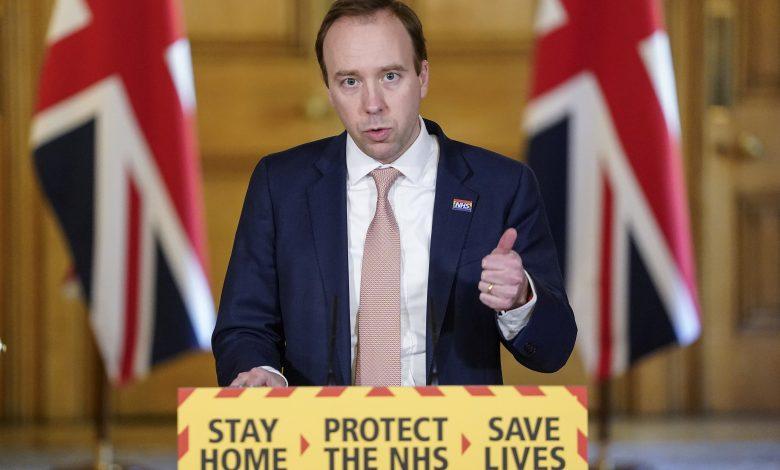 UK Health Secretary: Coronavirus Mutated Strain Cases Are Declining Sharply