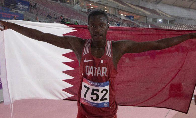 Qatari Athlete Musab Adam Qualifies for Tokyo Olympics 2020