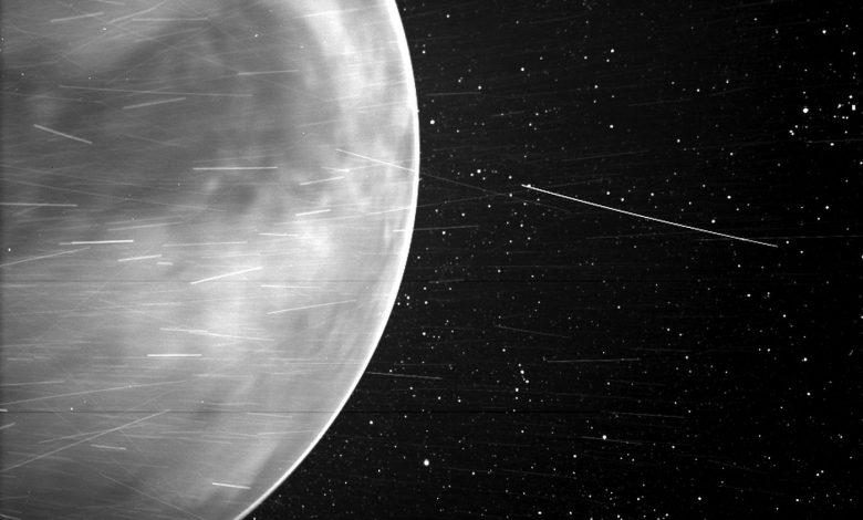 NASA probe captures stunning image of Venus