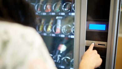 Vending machines in health centers doesn't give back change